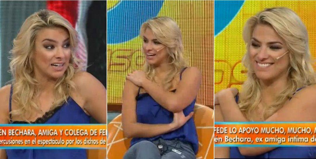El furcio de Ailén Bechara sobre su relación con Fede Bal, y reconoció que no tenía corpiño: ¡Me lo olvidé!