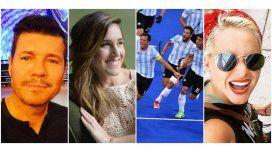 La euforia y el orgullo de los famosos por la medalla de oro de Los Leones en Río 2016