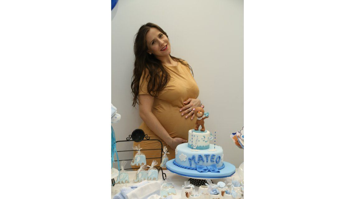 Julieta Camaño realizó el babyshower de su hijo: Celebré el embarazo como una bendición