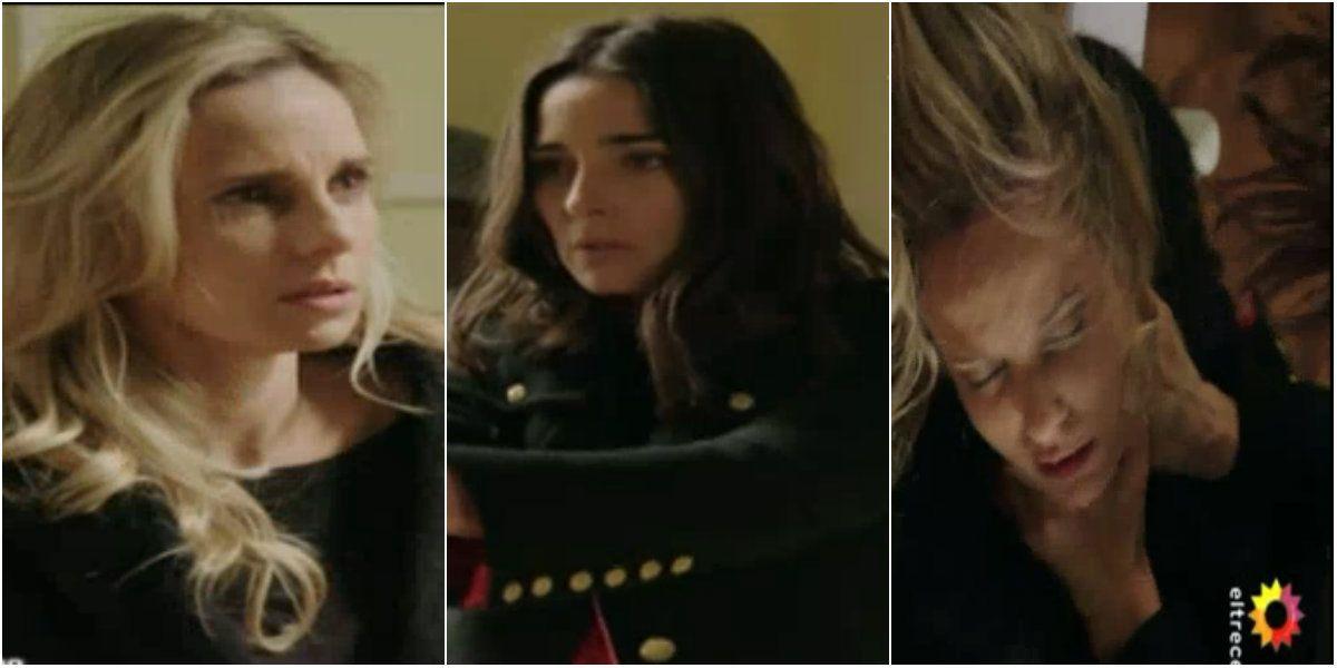 Fuerte escena: Juana Viale matando al personaje de Julieta Cardinali