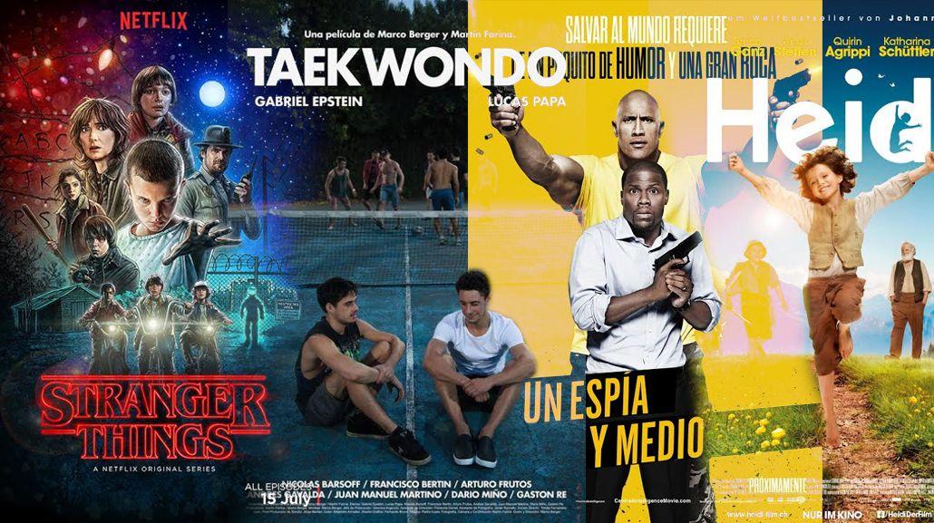 Los estrenos de cine y una entrevista exclusiva a los directores de Stranger things