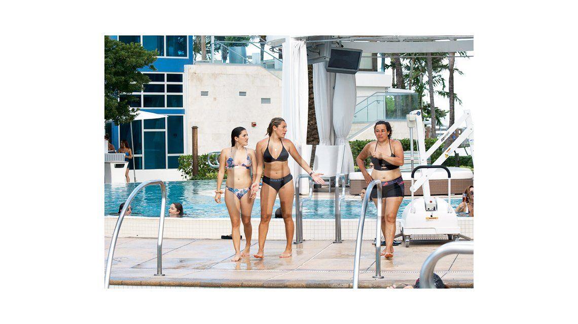 Jana Maradona y Rocío Oliva, en Miami: fotos en la playa y especial dedicatoria a Maradona, que pagó el viaje