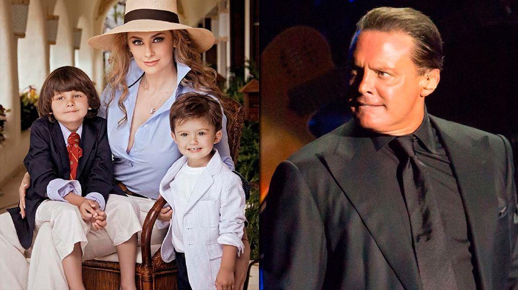 Aracely Arámbula, ex de Luis Miguel, lo acusa de abandonar a sus hijos menores