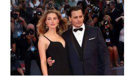 Tras la aparición del video violento, Depp le pagará 7 millones de dólares a su ex