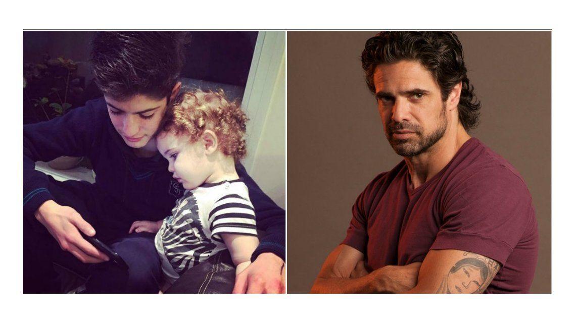 Fuerte denuncia de Luciano Castro: La cuenta es trucha, roban fotos a mi hijo Mateo. Se hacen pasar por él