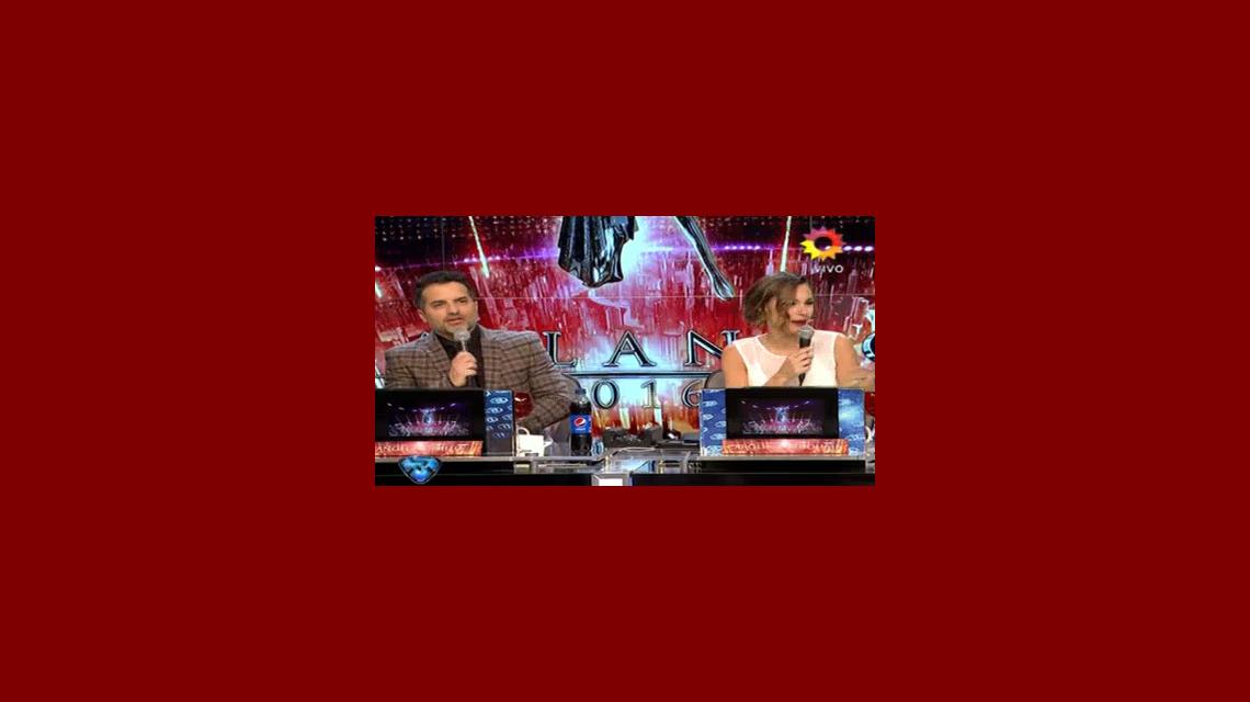 Tensión en vivo entre Ángel de Brito y Pampita: No es mala onda, es ser profesionales