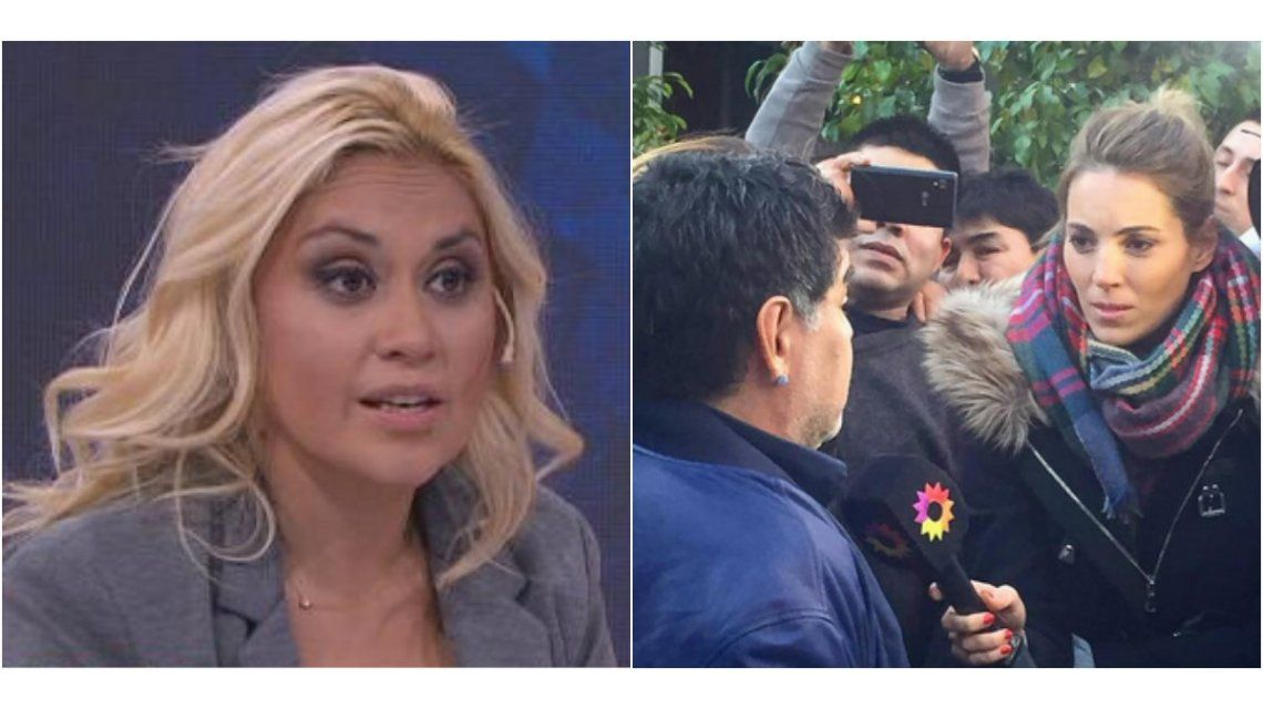 Verónica Ojeda,  furiosa con una panelista cercana a Rocío Oliva: Sos de cuarta, cállate, ¡idiota!