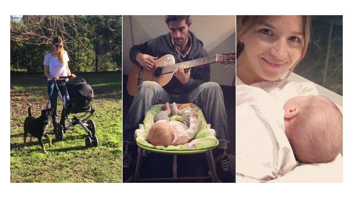 La tierna foto del marido de Marcela Kloosterboer con su hija Juana: Mi vida