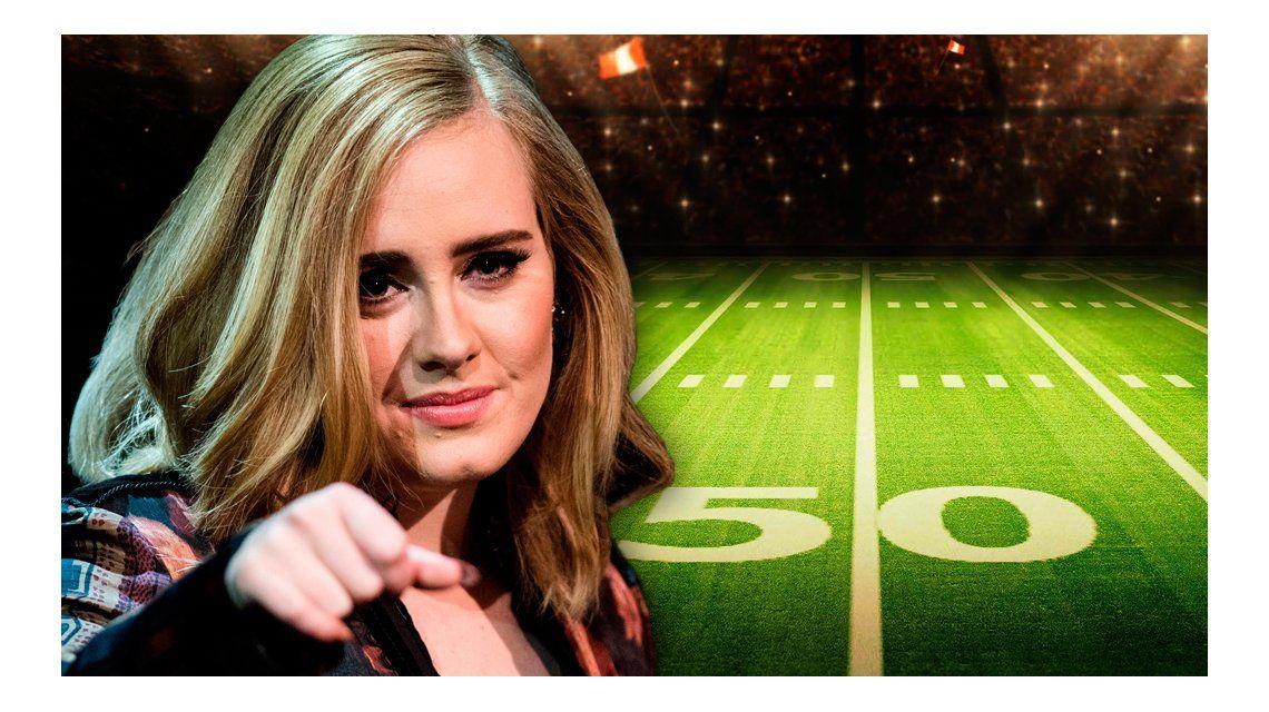La inesperada guerra entre Adele y los organizadores del Super Bowl
