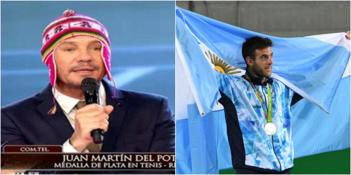 Juan Martín del Potro hablò en vivo con Tinelli tras el triunfo: No me imaginaba lo que se había generado acá