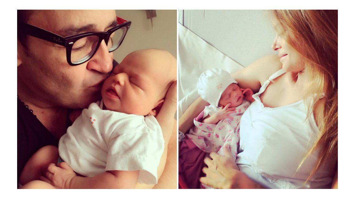 La emotiva y romántica carta de Vanina Escudero a Álvaro Navia por el nacimiento de su segundo hijo