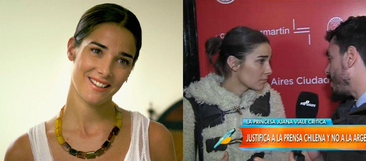 Juana Viale retrucó a un cronista con preguntas de la vida privada