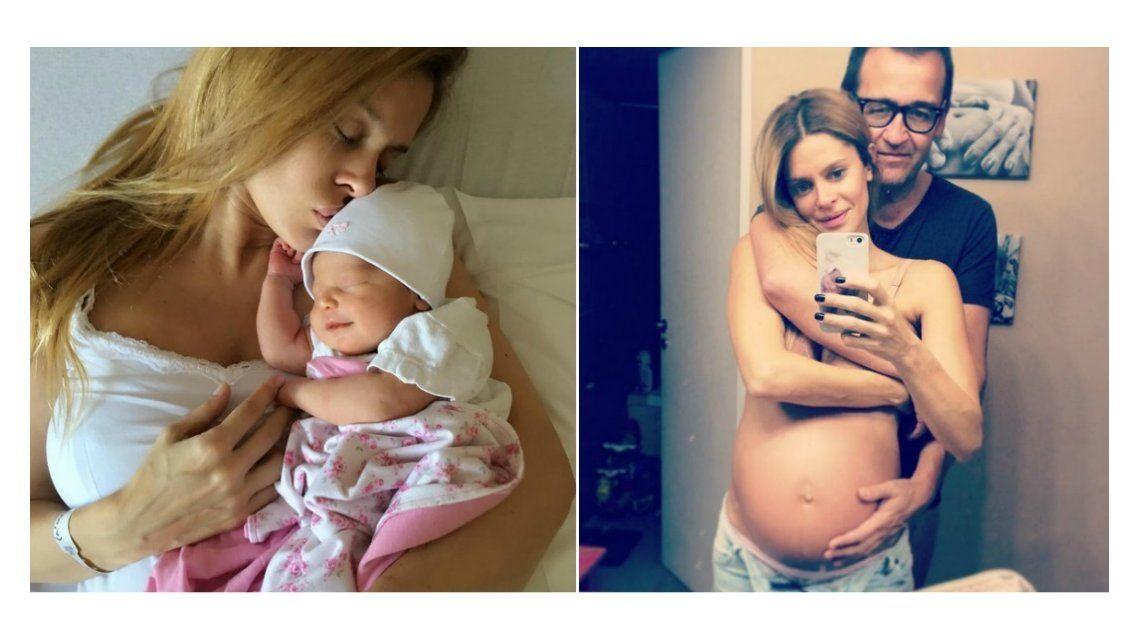 Vanina Escudero presentó a Joaquina: Esta familia te esperaba con tanto amor
