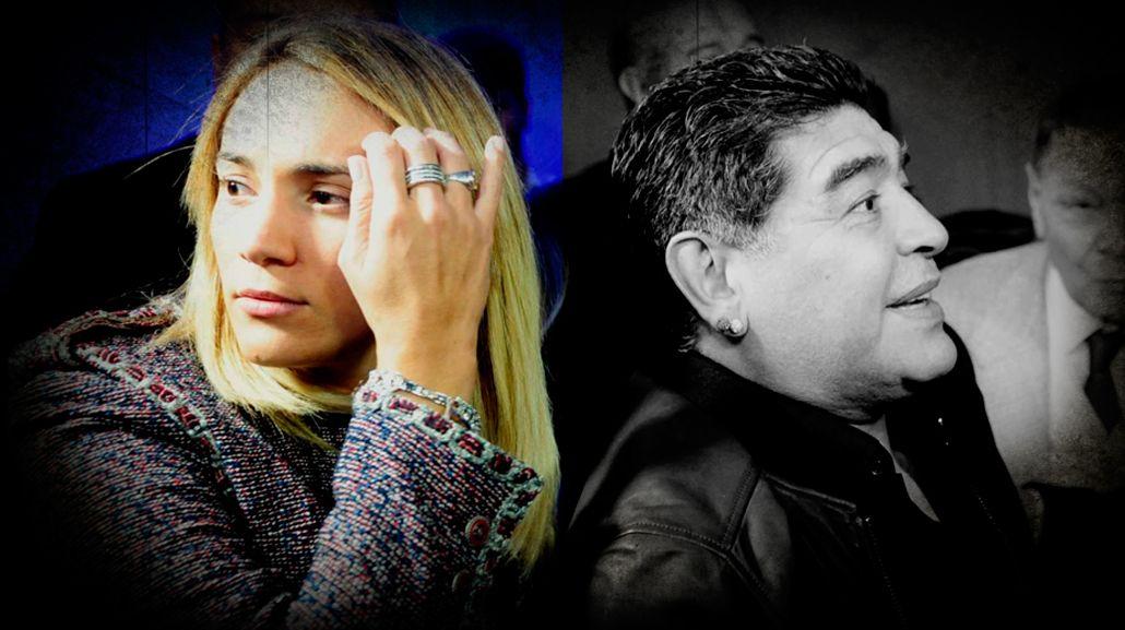 Escándalo y crisis entre Rocío y Maradona porque él fue al departamento de Ojeda
