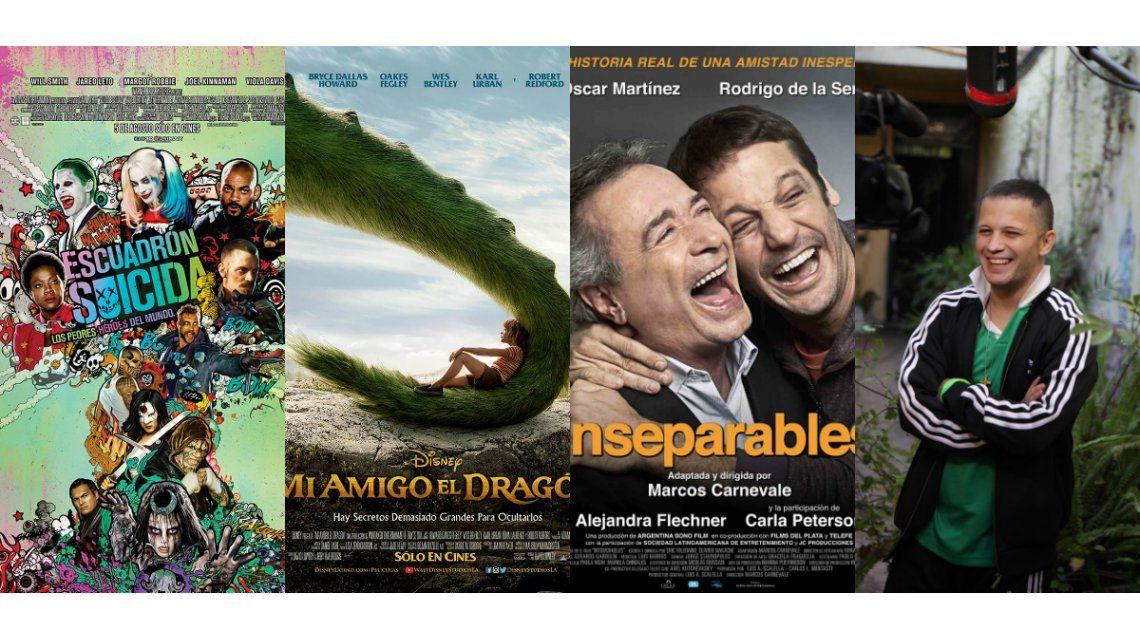 Los estrenos de cine de la semana y un adelanto exclusivo de la serie Nafta súper