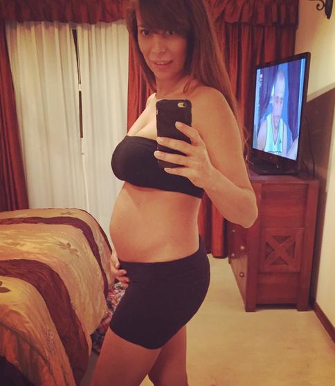 La primera foto de la pancita de Ximena Capristo, embarazada de cuatro meses