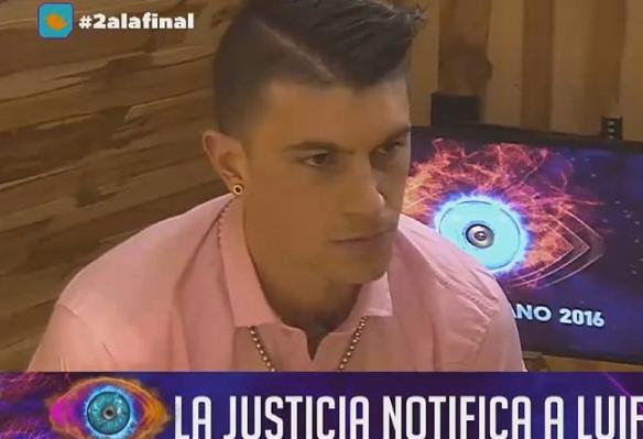 Luifa recibió una notificación de la Justicia por una demanda de su ex mujer