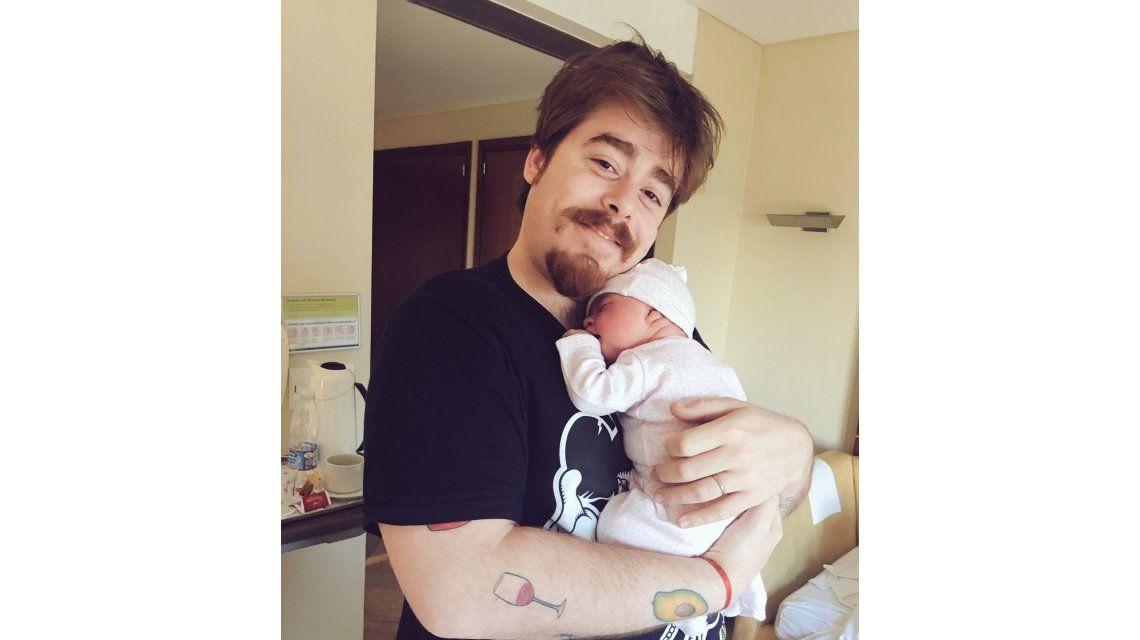 Migue Granados presentó a su hija recién nacida: Ya encontré al amor de mi vida, Bernardita