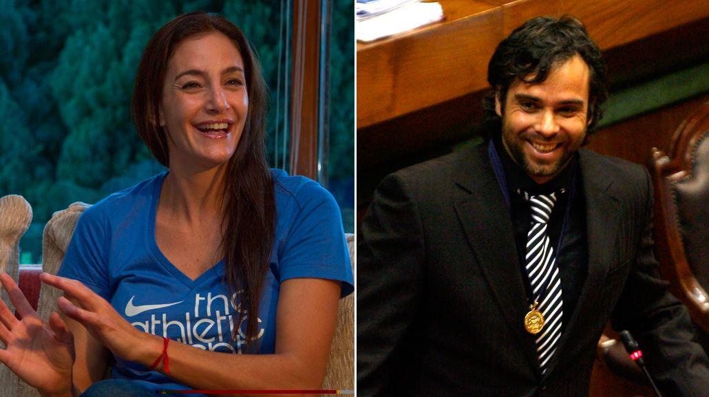 Luciana Aymar y el tenista chileno Fernando González, ¿romance en puerta?