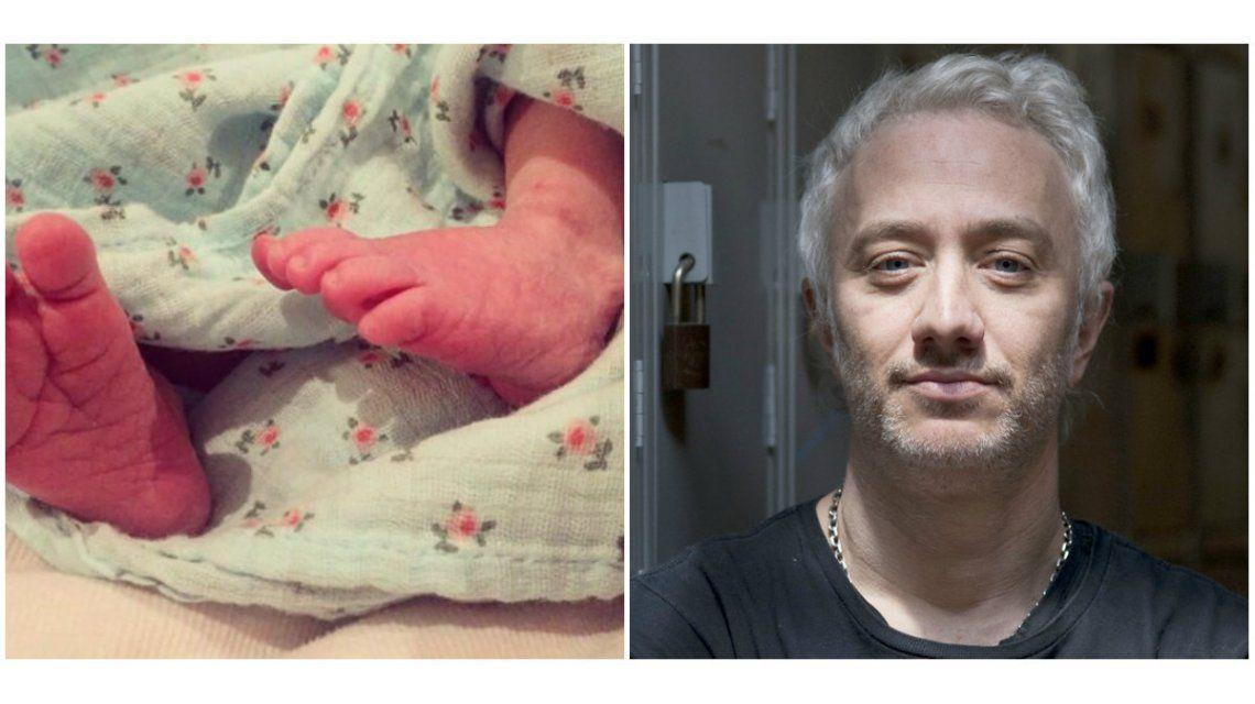 Andy Kusnetzoff mostró la primera foto de su hija: Flor y Helenita están muy bien