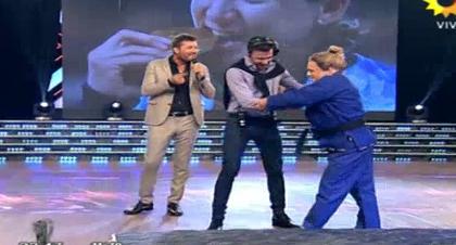 El Bicho Gómez, en la piel de Paula Pareto, ¡lo destrozó a Fede Hoppe en una pelea!