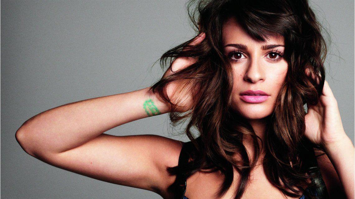 Tras el jugado desnudo, Lea Michele mostró cómo se depila