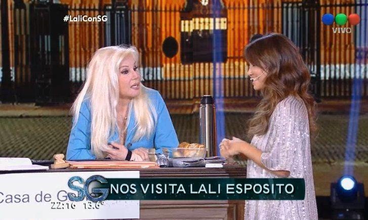 La divertida expresión de Lali Espósito respecto la físico de Mariano Martínez: Tiene un tabla de lavar la ropa