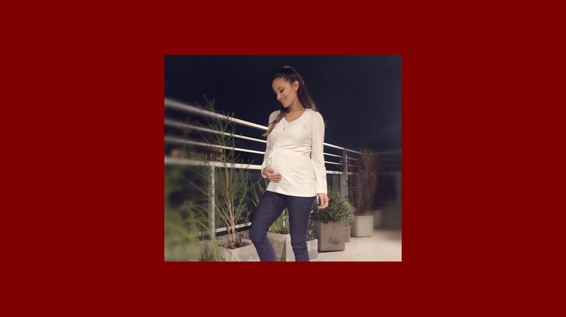 Lourdes Sánchez mostró por primera vez las pataditas de su bebé: Valentín es muy bailarín en mi panza
