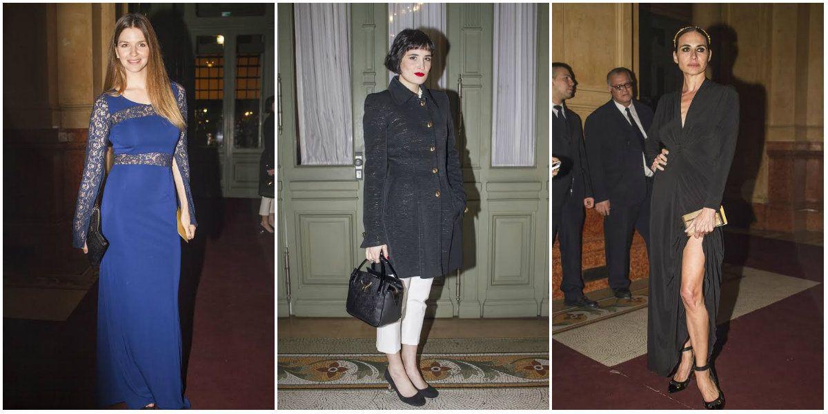 Marcela Kloosterboer, Natalia Lobo, Florencia Torrente y más famosos, en una noche de gala en el teatro Colón