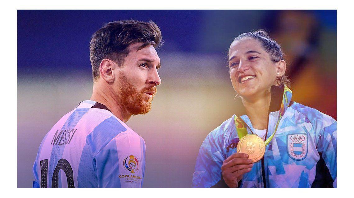 El contundente mensaje de Lionel Messi a Paula Pareto por su medalla de oro: Espero que sea la primera de muchas para nuestro país