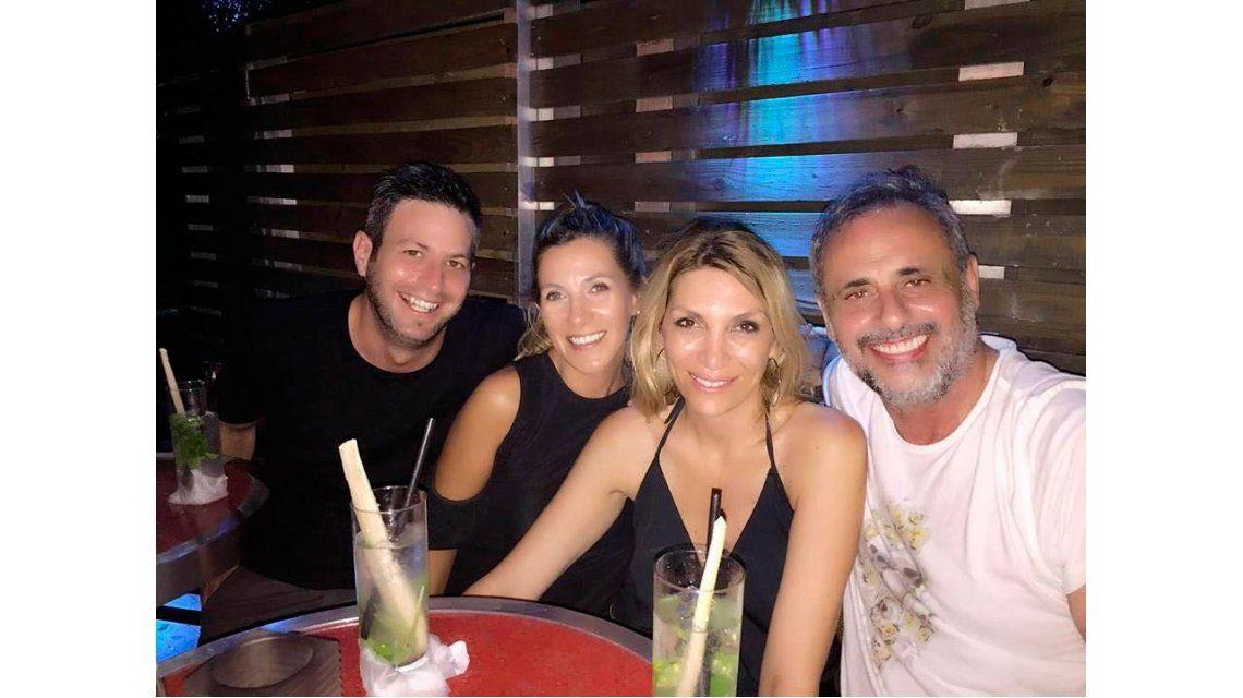 La noche de soltero de Jorge Rial en Miami