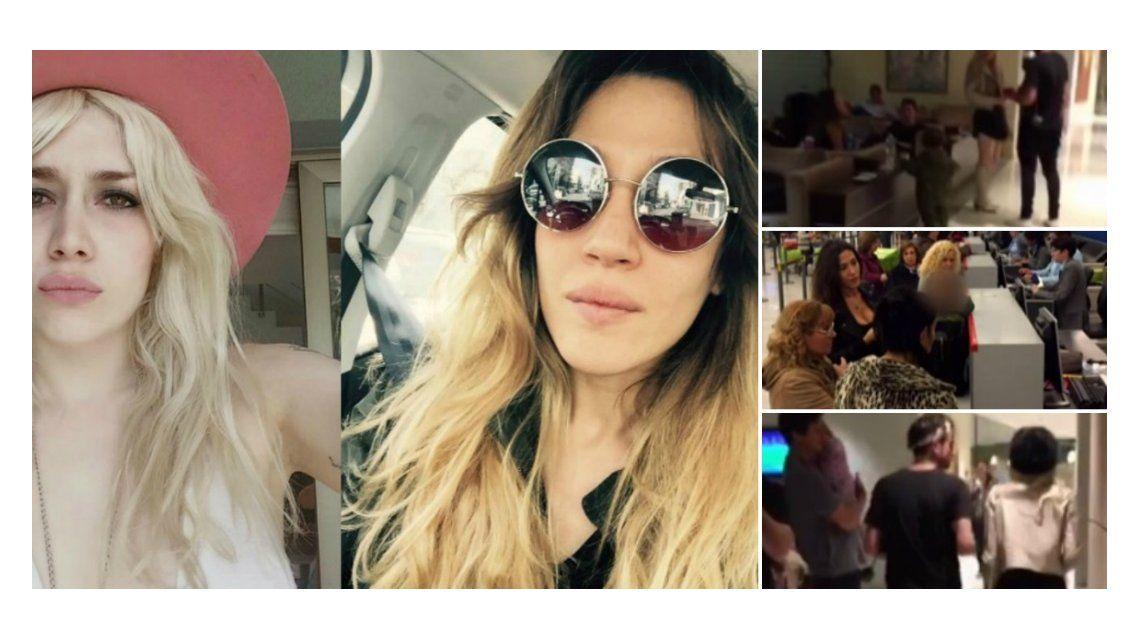 Militta Bora y Jimena Barón se cruzaron en un avión y Chano las presentó: mirá qué se dijeron