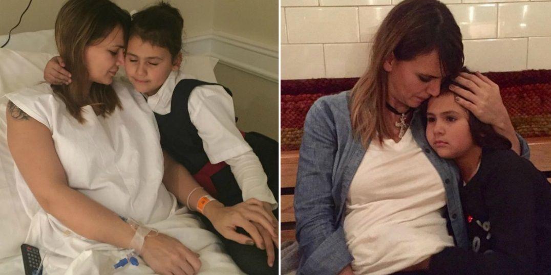 La primera foto de Amalia Granata, internada, junto a su hija: Solo sabemos amarnos y cuidarnos
