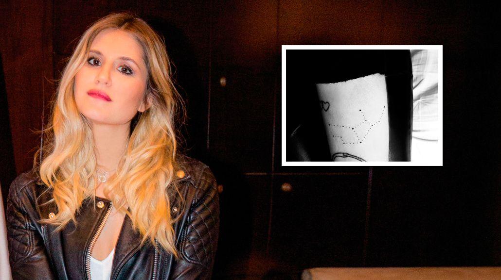 El misterioso significado del nuevo tatuaje de Micaela Tinelli