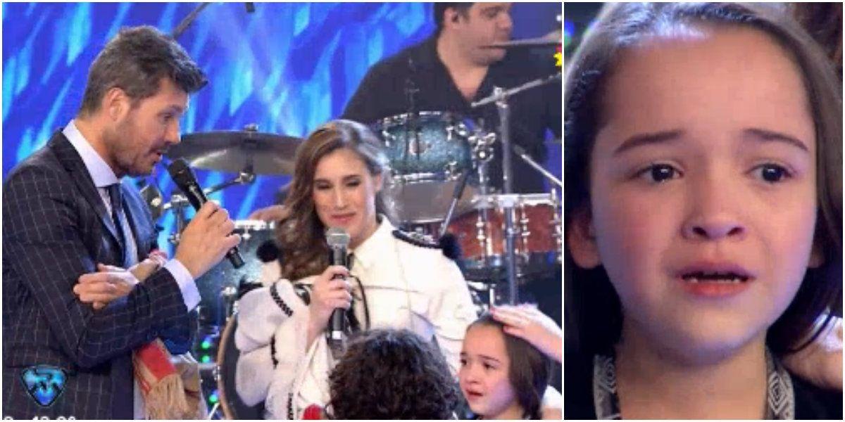 Soledad Pastorutti cantó en ShowMatch rodeada de chicos: la ternura de una niña emocionada por conocerla