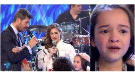 La Sole cantó rodeada de chicos: la emoción de una niña por estar junto a ella