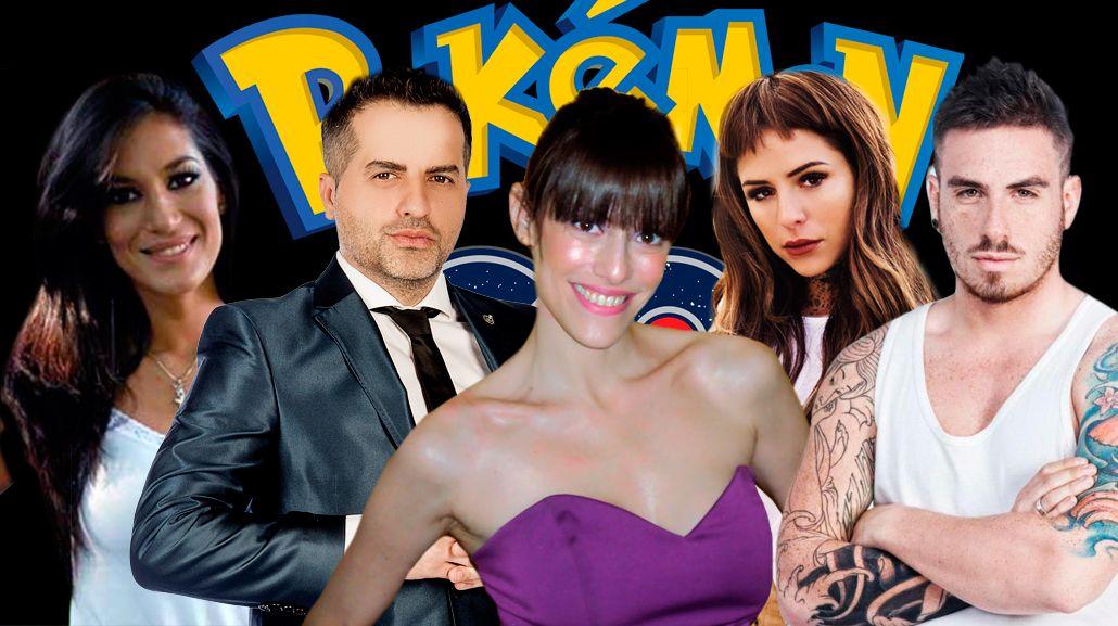 La repercusión de los famosos con la llegada de Pokémon Go en Argentina