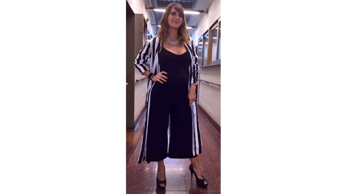 Susto e internación para Amalia Granata, embarazada de cuatro meses: El bebé está bien