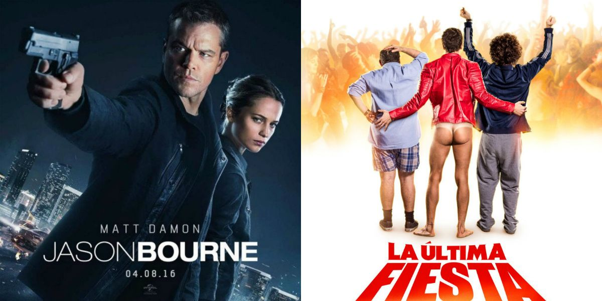 El estreno de Jason Bourne y un adelanto exclusivo de La última fiesta