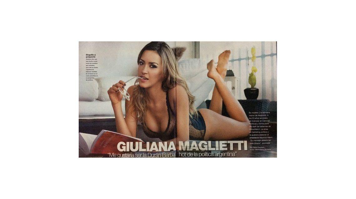 La hermana de Ale Maglietti, on fire: se recibió de politóloga y quiere ser la Durán Barba hot