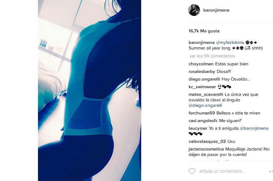 Jimena Barón busca novio y calienta Instagram con fotos hot: Un peligro estar sola