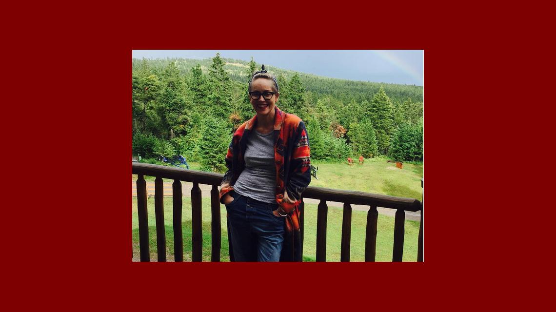La foto de Sharon Stone en la pileta que sorprende por su lomazo a los 58 años