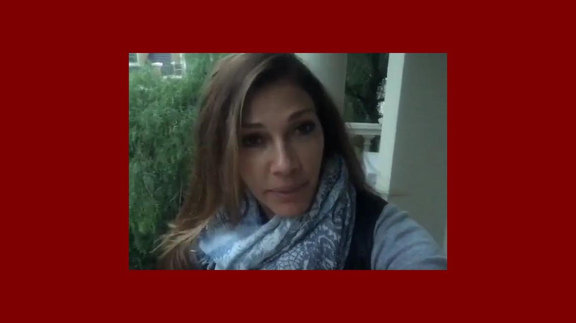 Insólito pedido de Cathy Fulop en un video: Me robaron mi bolso y había unas bombachas, ¿me las devuelven?