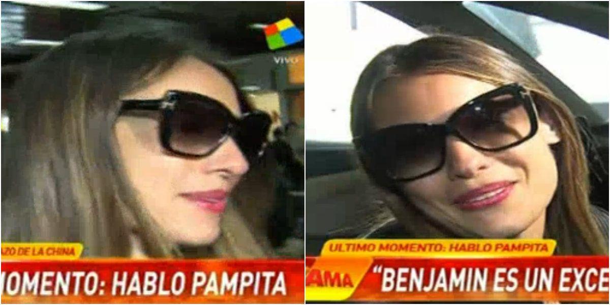 La frase de Pampita cuando le preguntaron cómo se tomaría un embarazo de la China Suárez