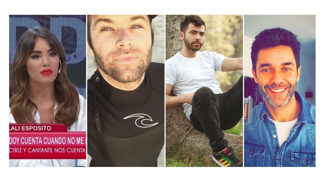 Lali Espósito no escapa a nada: Benja Amadeo, Nazareno Casero y Mariano Martínez