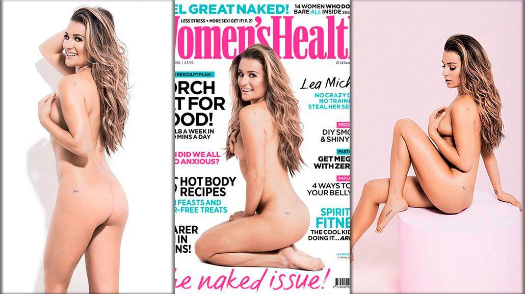 Lea Michele, al desnudo: No soy perfecta; me amo a mí misma, con defectos y todo