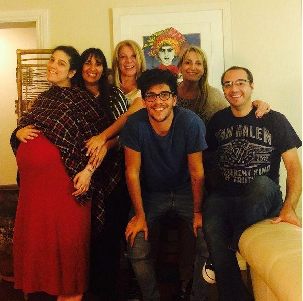 Las últimas fotos familiares de Juana Repetto antes de dar a luz a Toribio: Despidiendo la panza