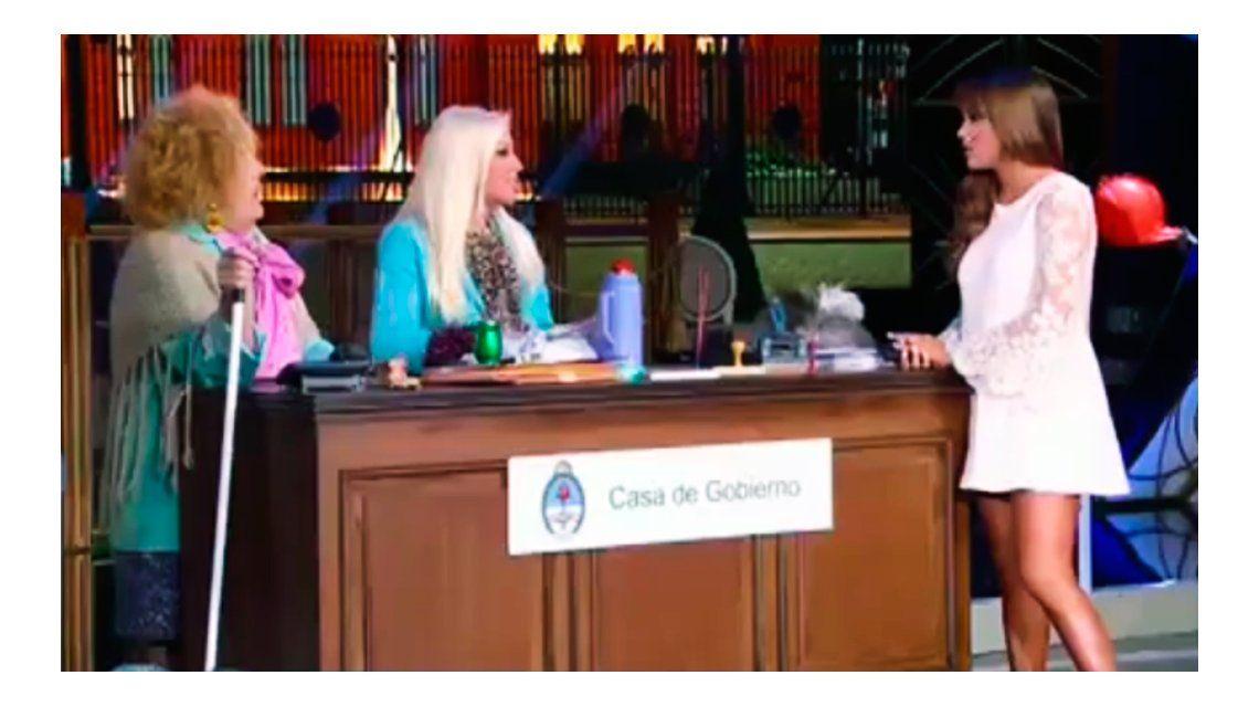 Las preguntas incómodas de Antonio Gasalla a Barbie Vélez: Armaste una batalla campal...