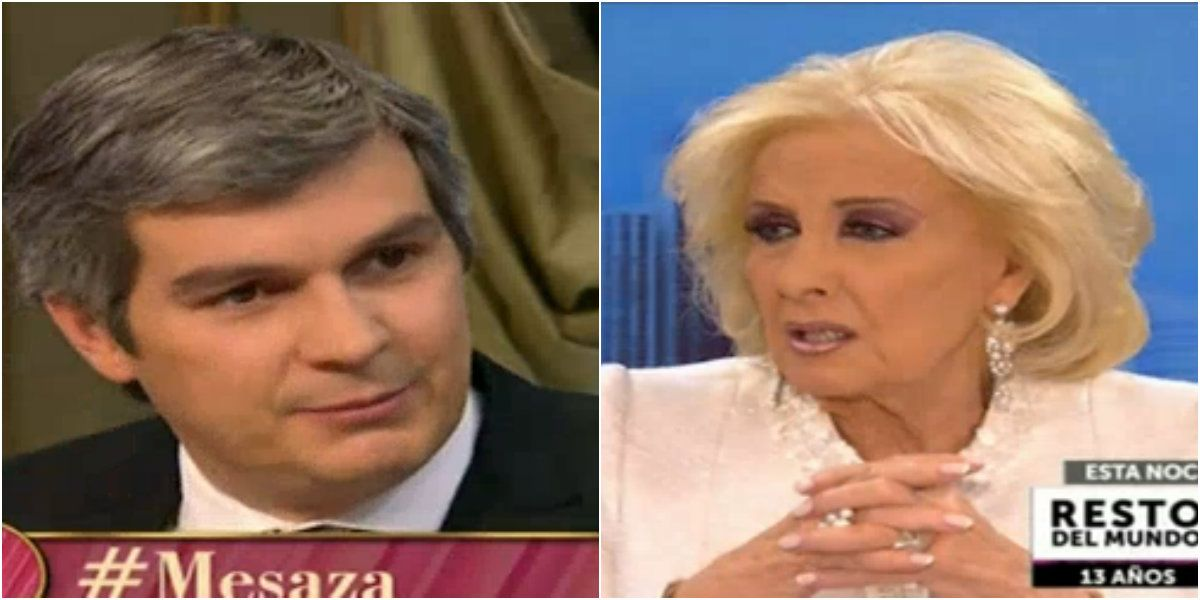 Mirtha Legrand cuestionó a Marcos Peña en su programa: Me siento espiada