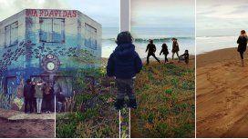 El viaje de Valdes con sus cuatro hijos a Necochea: Compartir con ellos